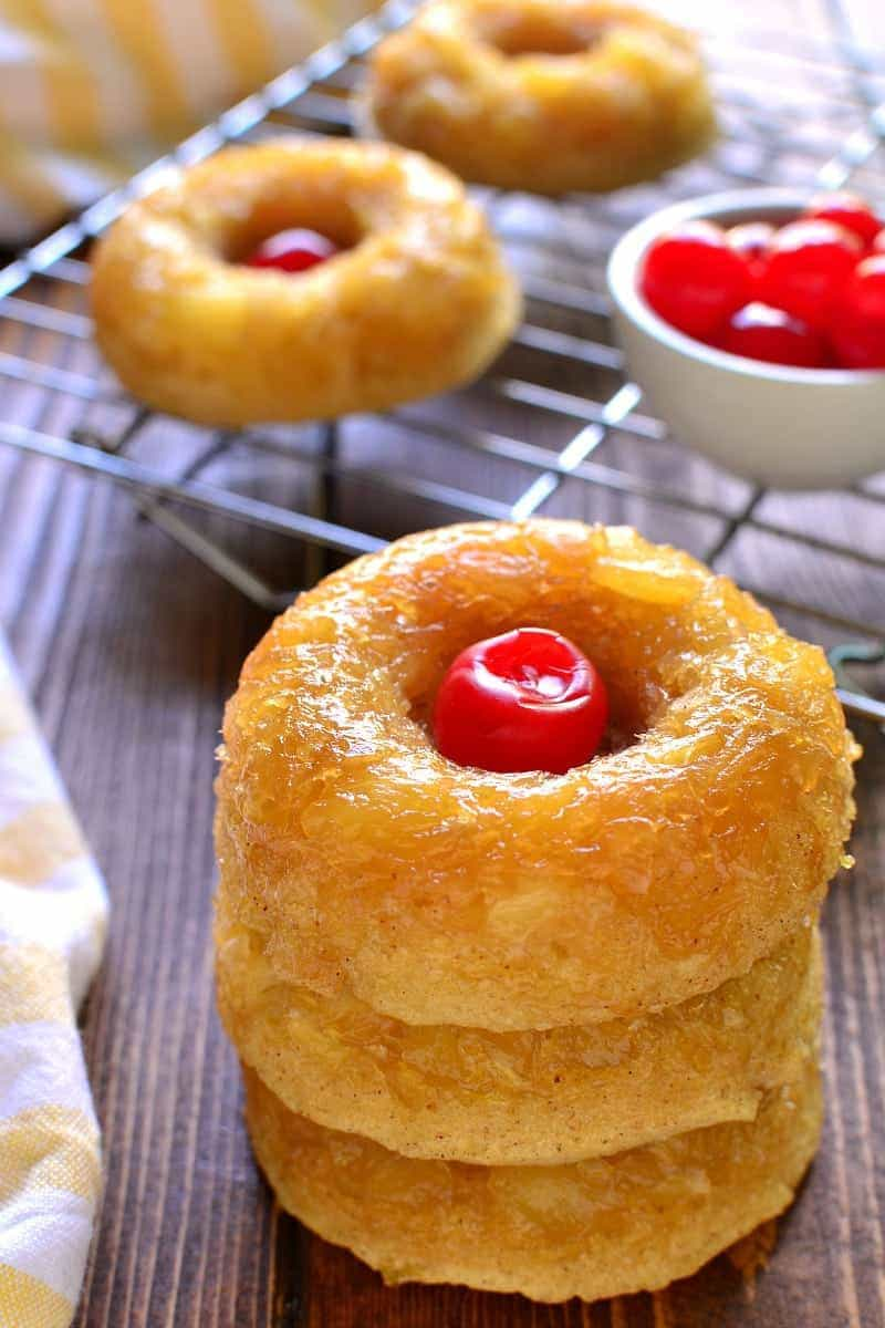Pineapple Upside Down Donuts 2