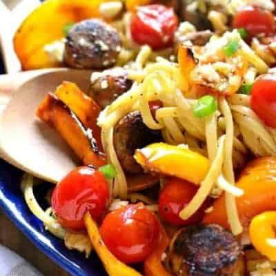 Sausage & Pepper Linguine
