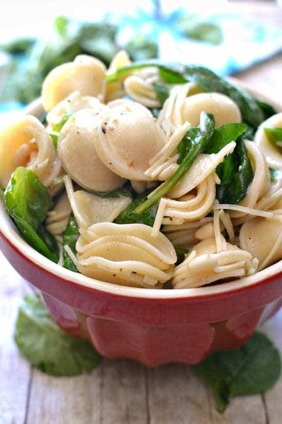 Spinach & Pine Nut Pasta Salad 4