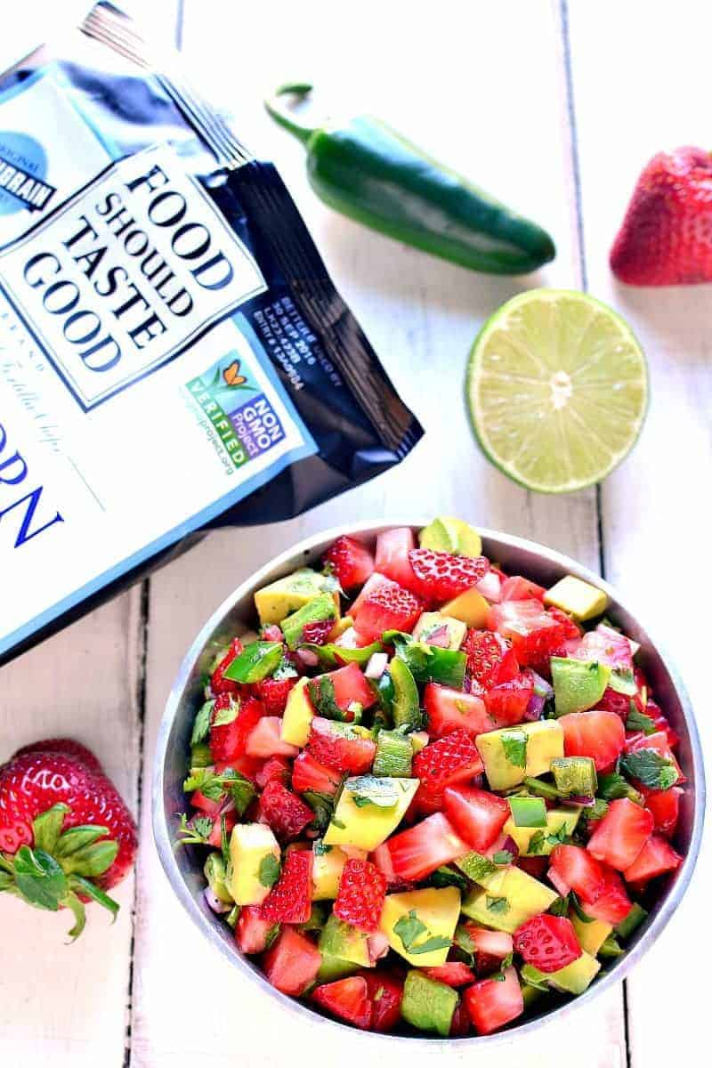 This Strawberry Avocado Salsa is a delicious twist on a favorite ...