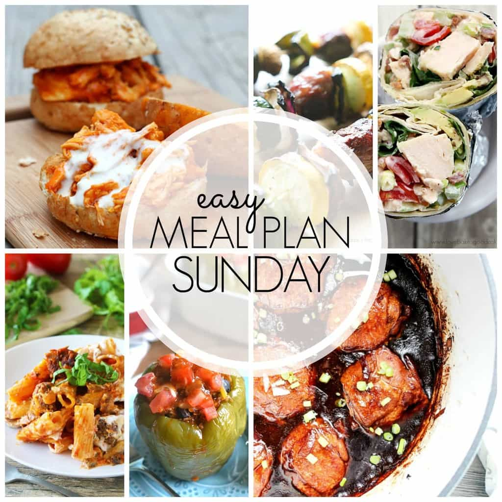 A full week's worth of recipes - everything from breakfast to dinner to dessert - guaranteed to make your life easier!