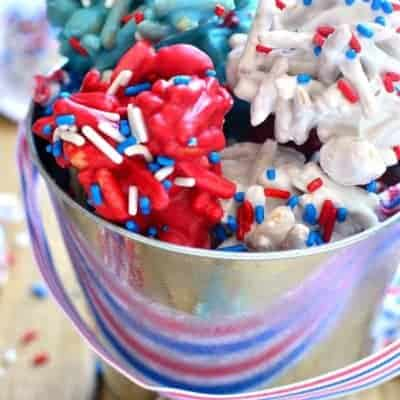 Red, White & Blue Fireworks Treats & Giveaway!