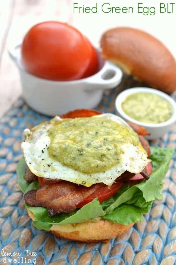 Fried Green Egg BLT 5