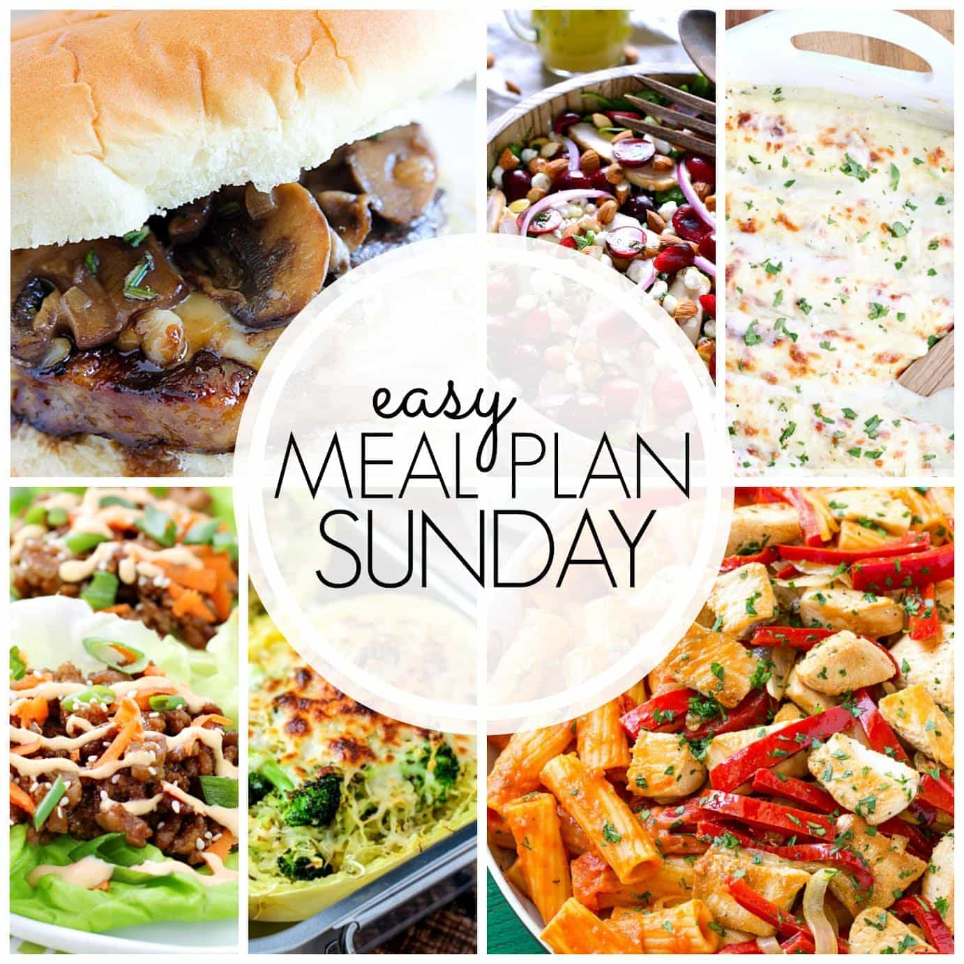 The BEST weekly meal plan, filled with mouthwatering recipes from all your favorite bloggers!!