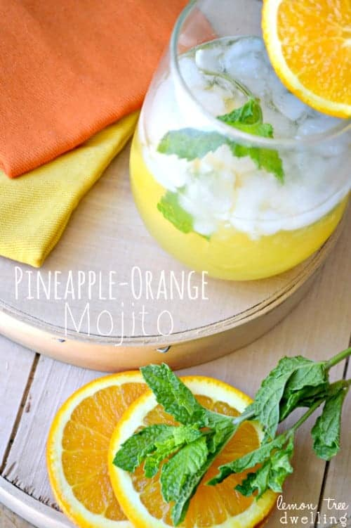 Pineapple-Orange Mojito 1b