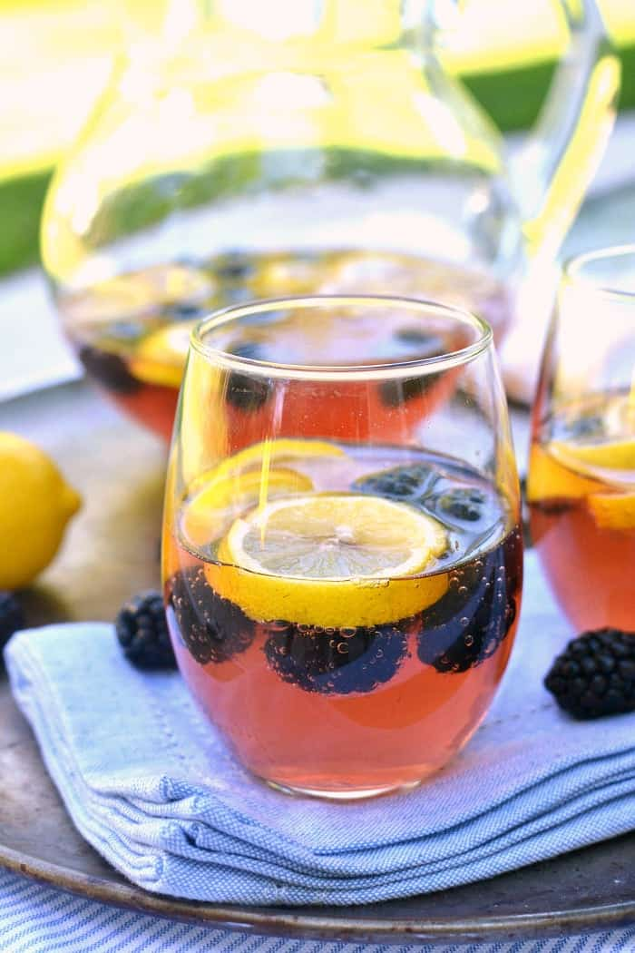 Blackberry Lemon Sangria 2d