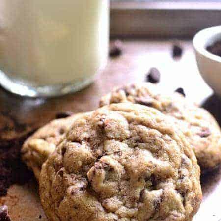 Espresso Choc Chip Cookies 1