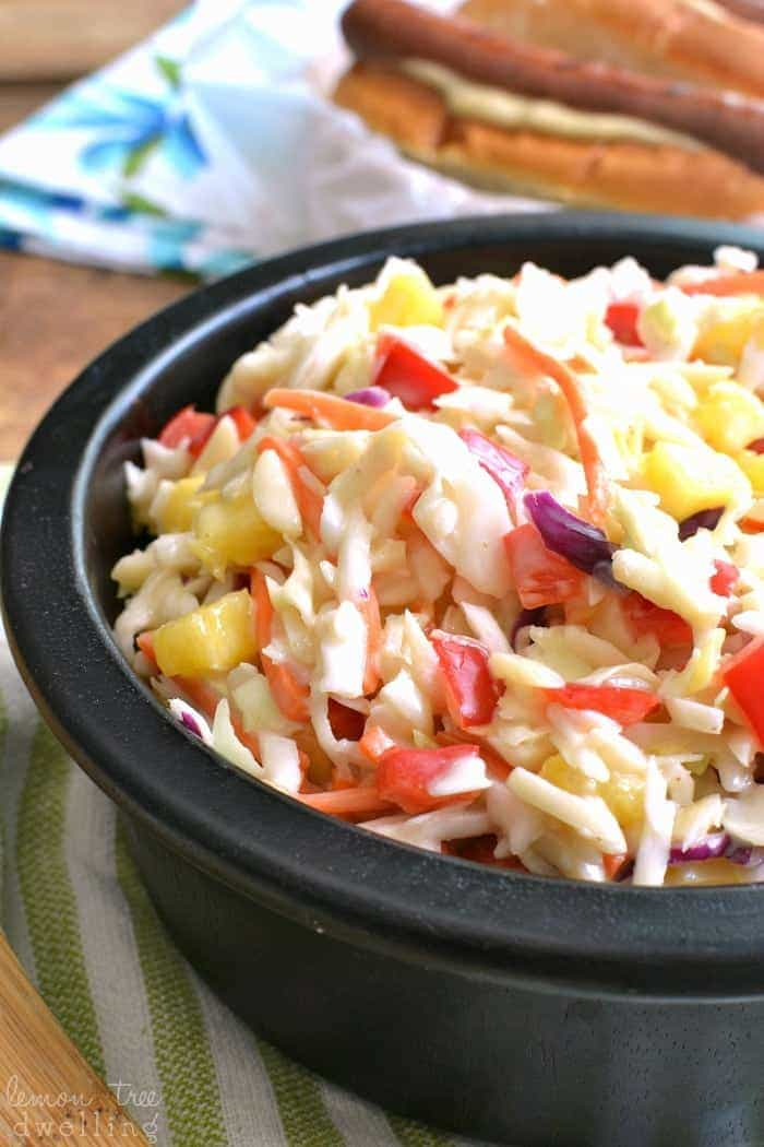 Hawaiian Coleslaw 2c