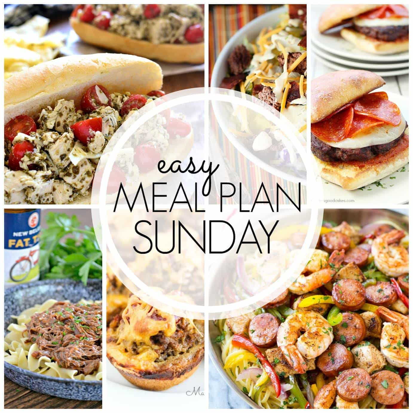 The BEST Easy Meal Plan, guaranteed to make your life easier! 6 dinners, 1 breakfast, and 2 desserts....all pre-tested and family approved! Enjoy!