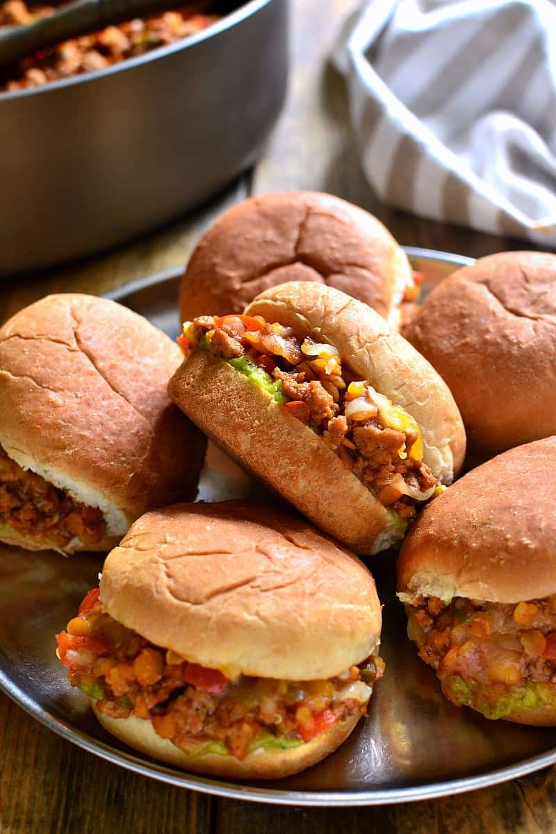 Southwest Sloppy Joes combine the classic flavors of sloppy joes with a delicious southwest twist that's sure to be a hit!