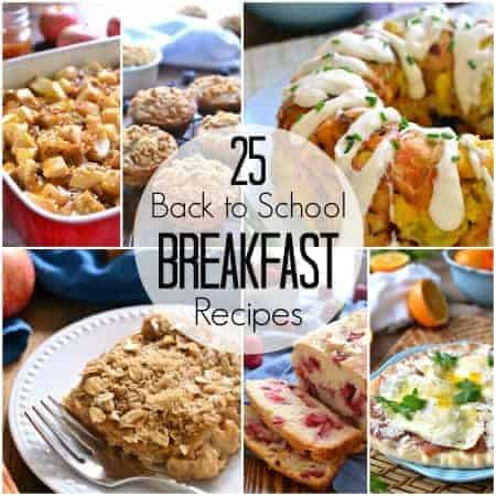 25 Back to School Breakfast Recipes Square