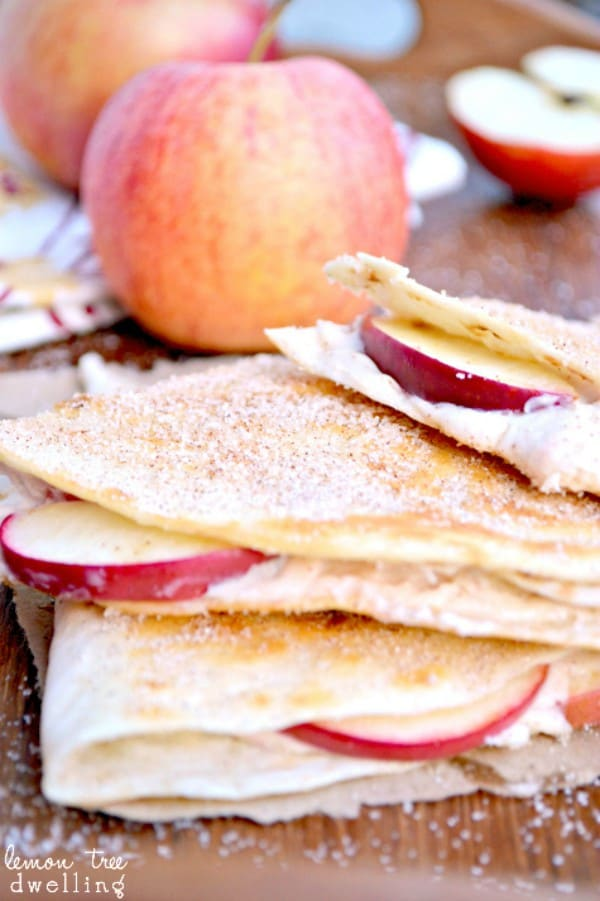 Apple Cheesecake Breakfast Quesadillas 4b
