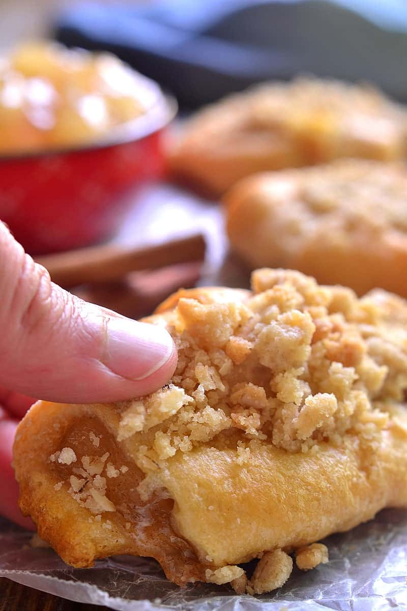 Apple Pie Crescent Rolls 5