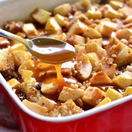 Caramel Apple French Toast Casserole 5b