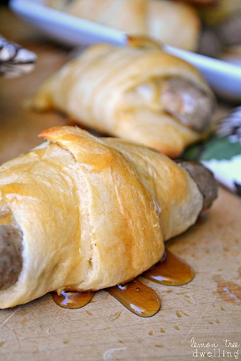 Maple Sausage Crescent Rolls 3b