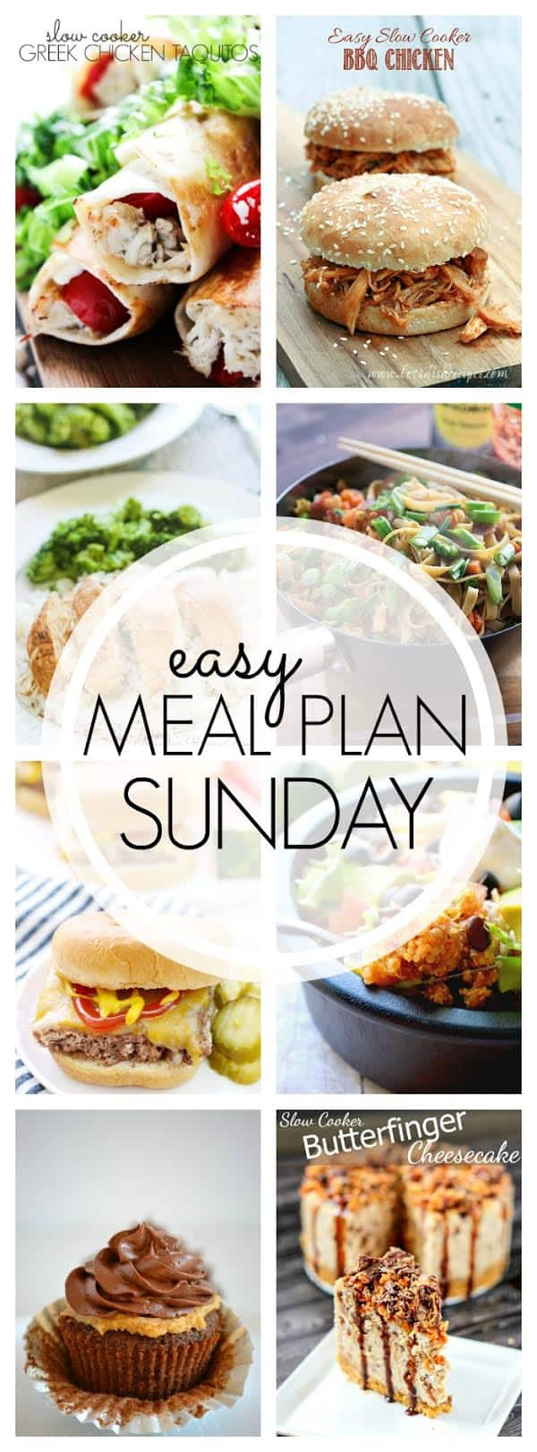 Weekly Meal Plan - this all looks awesome!