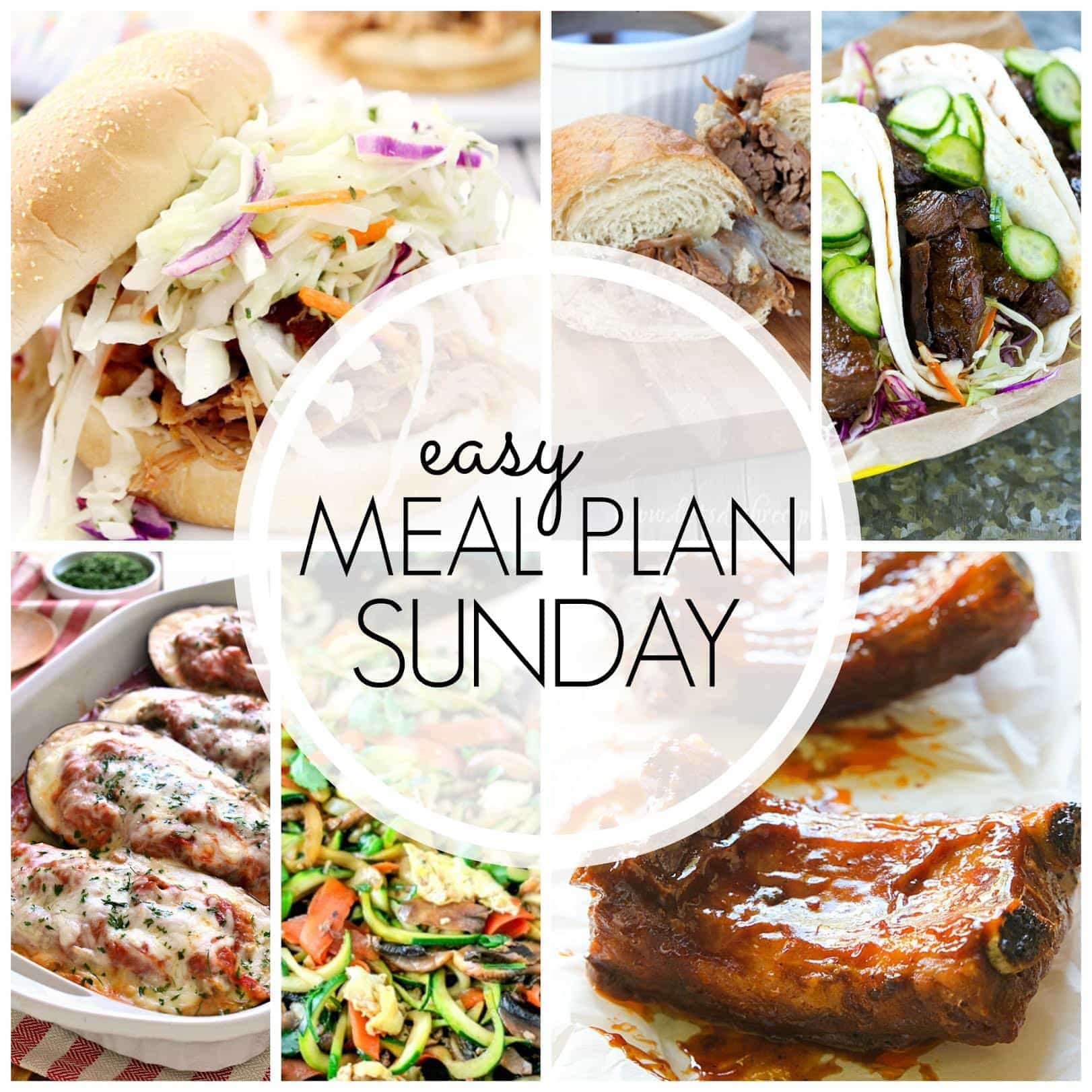 The BEST Easy Meal Plan! Everything you need to make life easier....guaranteed!!