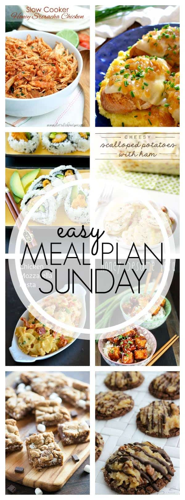 The BEST Easy Meal Plan! Everything you need for a week's worth of  meals....all in one place! Guaranteed to make your life easier and your week better!