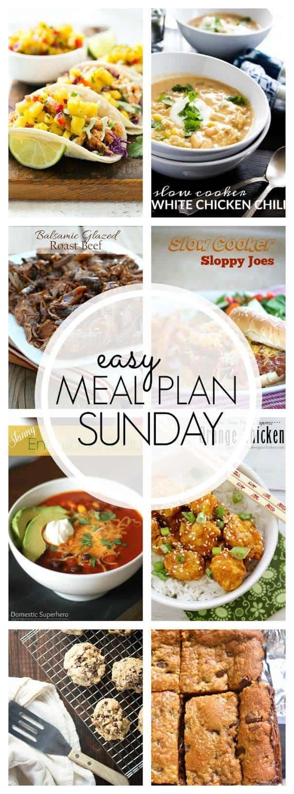 The BEST Easy Meal Plan! Guaranteed to make your week delicious...without all the planning!