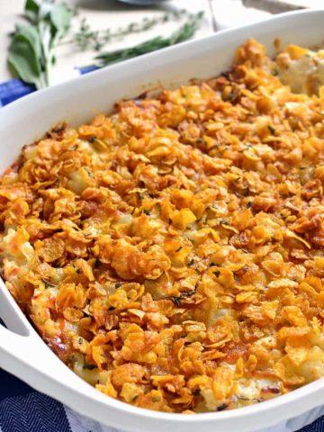 Garlic Herb Cheesy Potatoes
