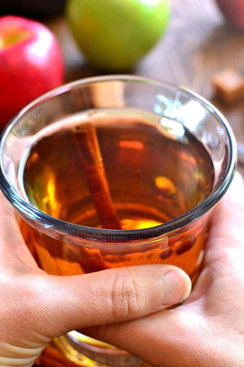 Boozy Hot Apple Cider Recipe — Dishmaps