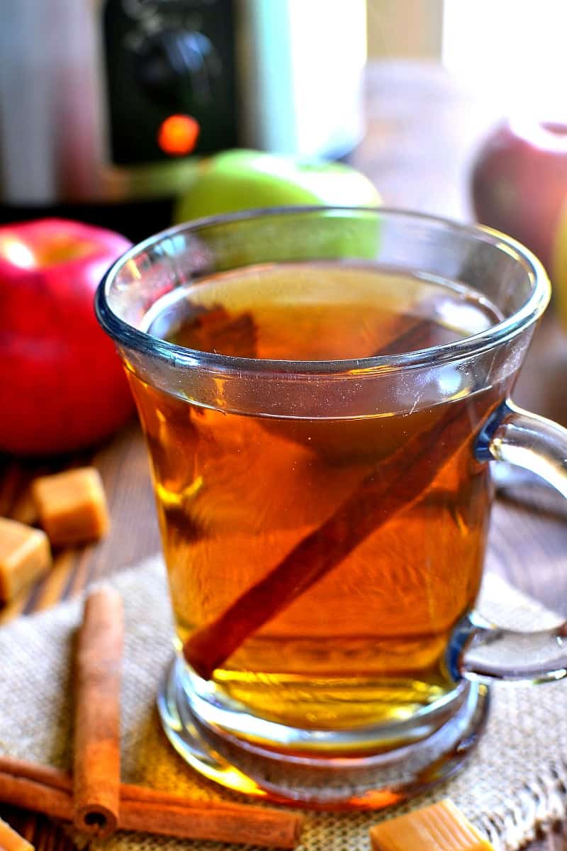 Boozy Butterscotch Crock Pot Apple Cider | Lemon Tree Dwelling