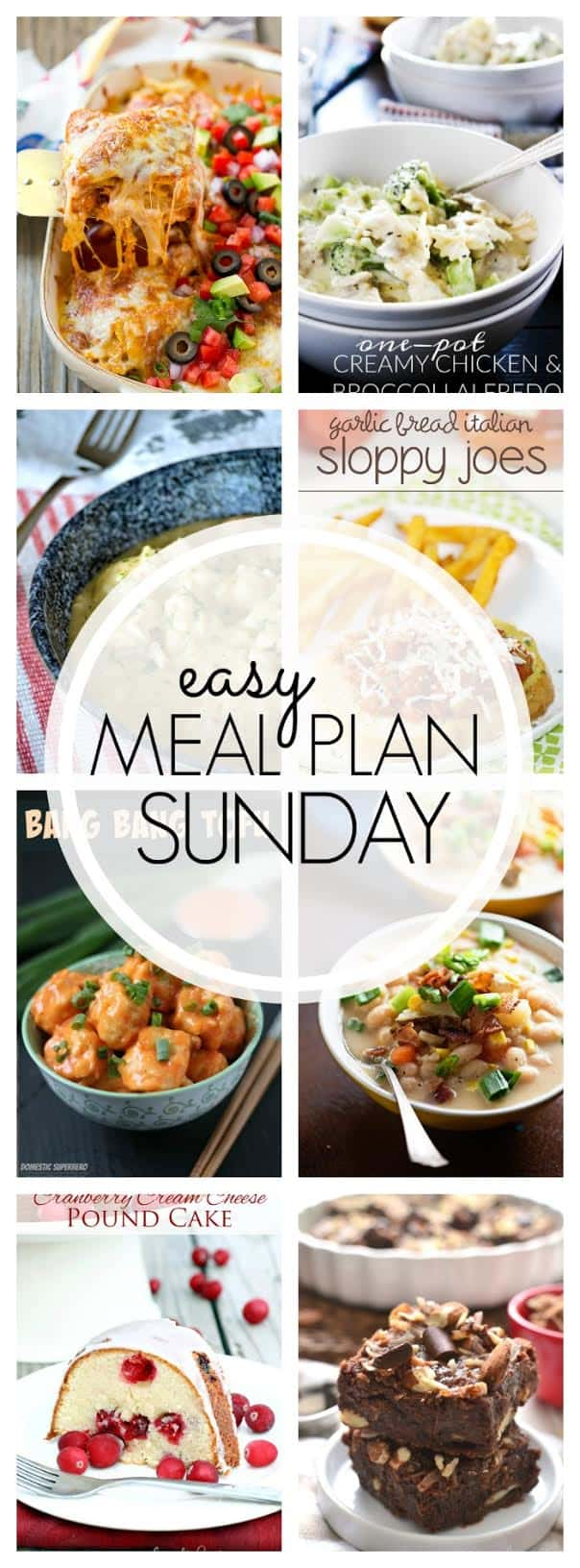 The BEST Weekly Meal Plan! Everything you need to make your week easier...and more delicious!
