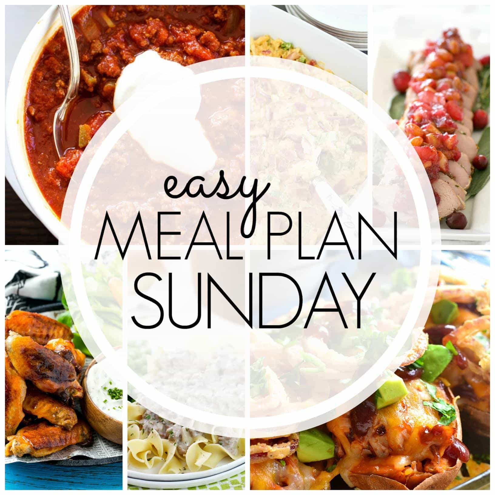 The BEST Weekly Meal Plan - everything you need to make your week easier and SO much more delicious!