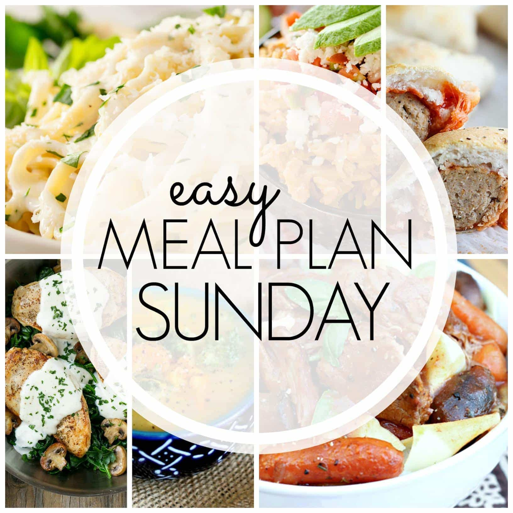The BEST Easy Meal Plan, loaded with delicious recipes your family will love. There's something for everyone....including a new healthier option!