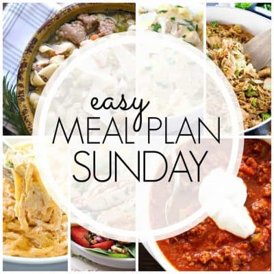 Easy Meal Plan! {Week 82}