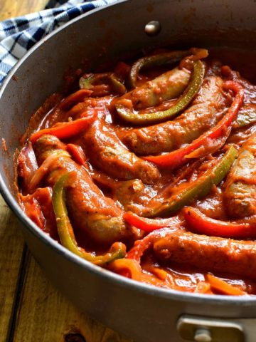 These Sausage and Pepper Sandwiches are like comfort in a sandwich roll!