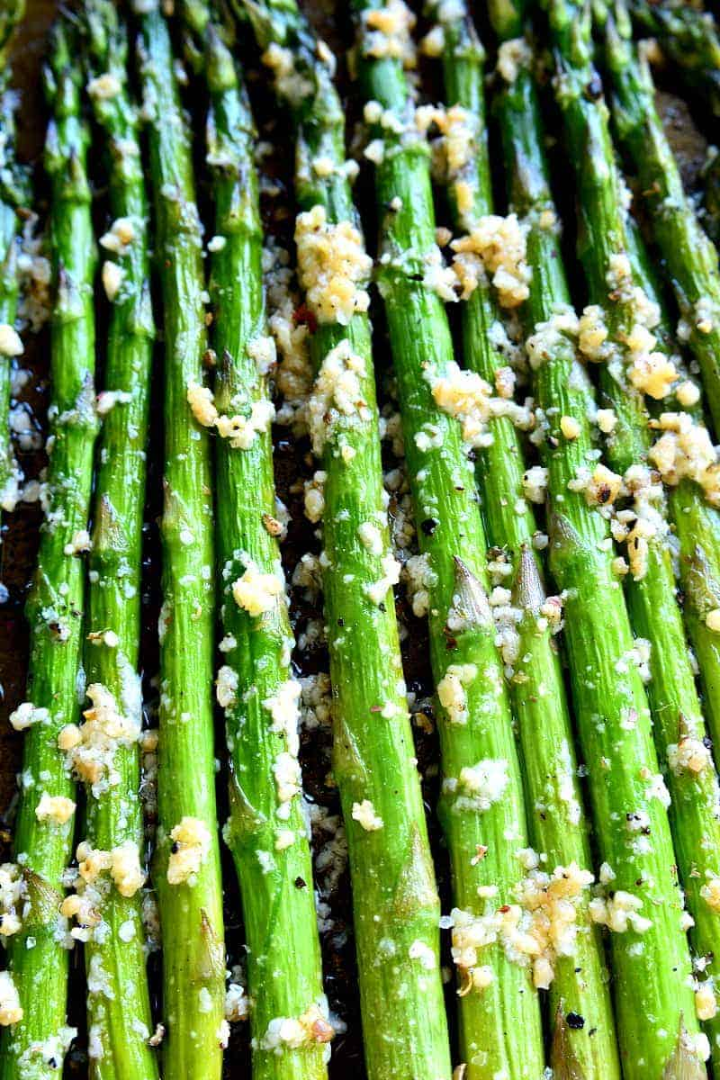 Garlic Roasted Asparagus | Lemon Tree Dwelling