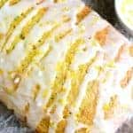 This Lemon Zucchini Bread combines two favorites in one delicious loaf of bread! This quick snack or easy breakfast idea is a great way to sneak in veggies!