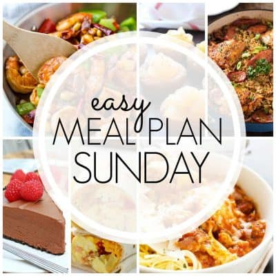 Easy Meal Plan! {Week 88}