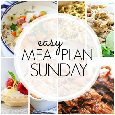 Easy Meal Plan! {Week 89}