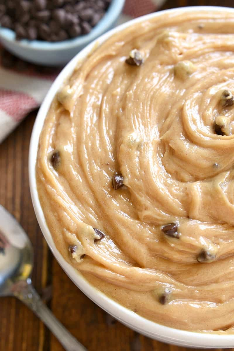 Peanut Butter Cream Cheese Dip In Chocolate