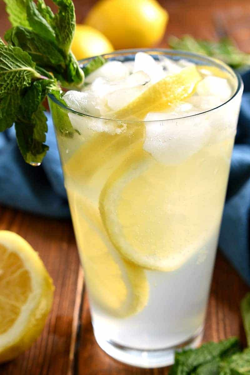 This Sparkling Mint Lemonade is the perfect drink for summer! It's light, refreshing, and packed with the delicious flavor of mint. If you love lemonade, you have to try this delicious twist!