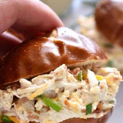 Bacon Cheddar Ranch Chicken Salad