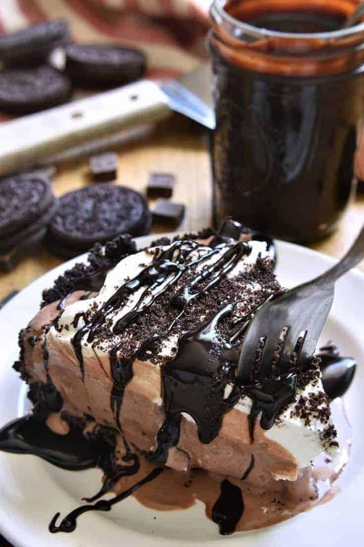 Frozen Death by Chocolate Pie