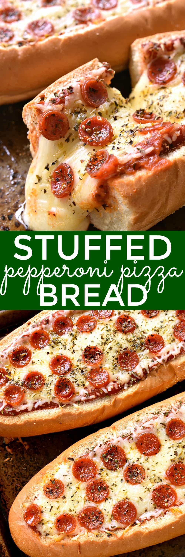 Stuffed Pepperoni Pizza Bread Lemon Tree Dwelling