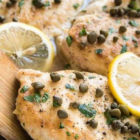 Easy Lemon Chicken Piccata ????????????