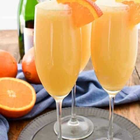 Orange Creamsicle Mimosas