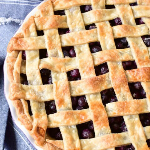 Easy Blueberry Pie