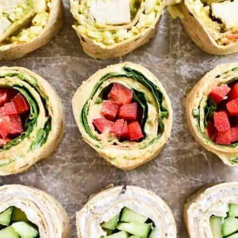 3 Easy Tortilla Pinwheels