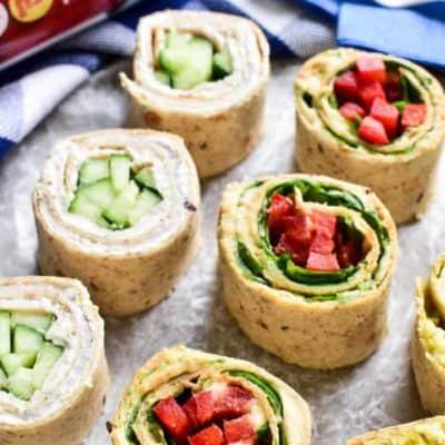 3 Easy Tortilla Pinwheels Recipes