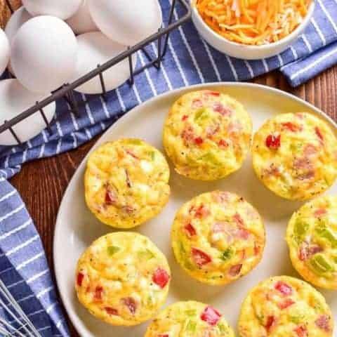 Ham & Cheese Egg Muffins