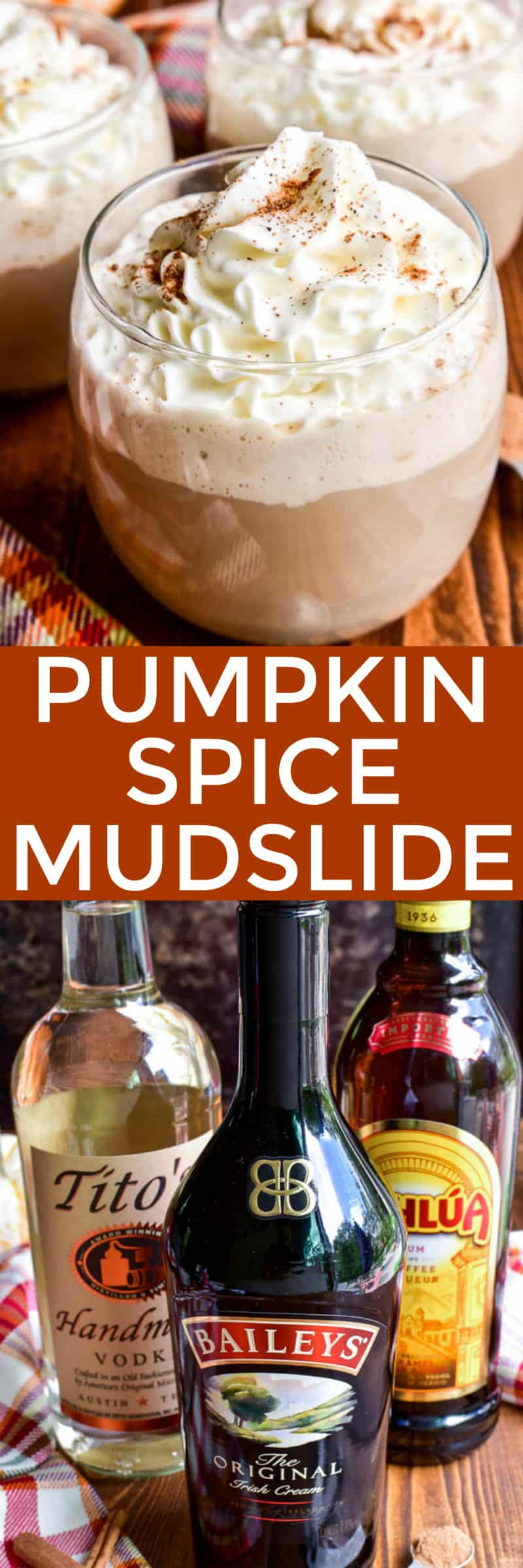 Fall is the time for all things pumpkin spice...and this Pumpkin Spice Mudslide is about to become your new favorite! This drink combines all the flavors of the classic mudslide cocktail with a pumpkin spice twist. Perfect for fall gatherings or cozy nights by the fire, if you love mudslides you'll fall in love with this fall version!