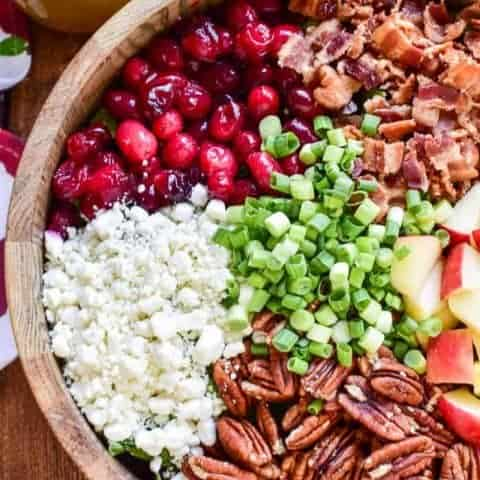 Cranberry Apple Pecan Salad