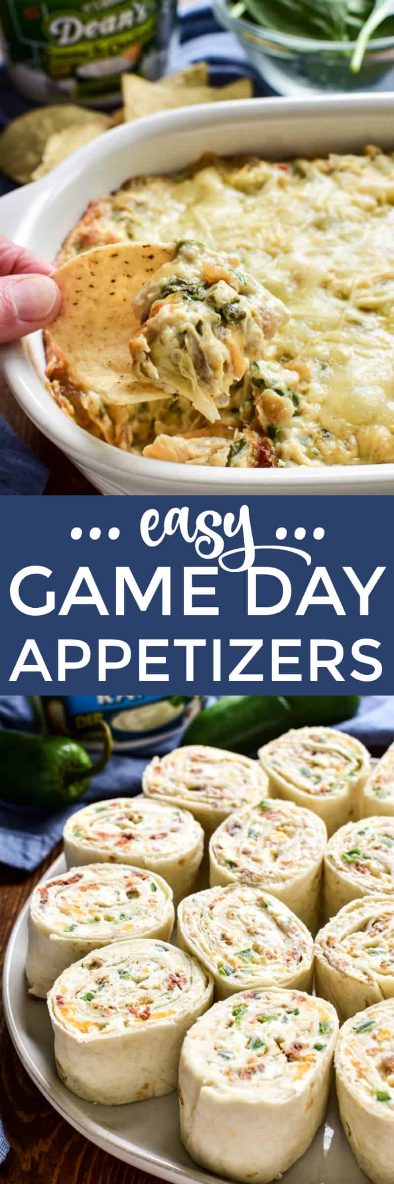 #sponsored These easy Super Bowl appetizers start with @deansdip and are packed with the most amazing flavor! Whether you're looking for a yummy twist on spinach artichoke dip or a delicious new way to enjoy jalapeño poppers, these recipes are guaranteed to be crowd pleasers! #deansdip #deansdipgameday