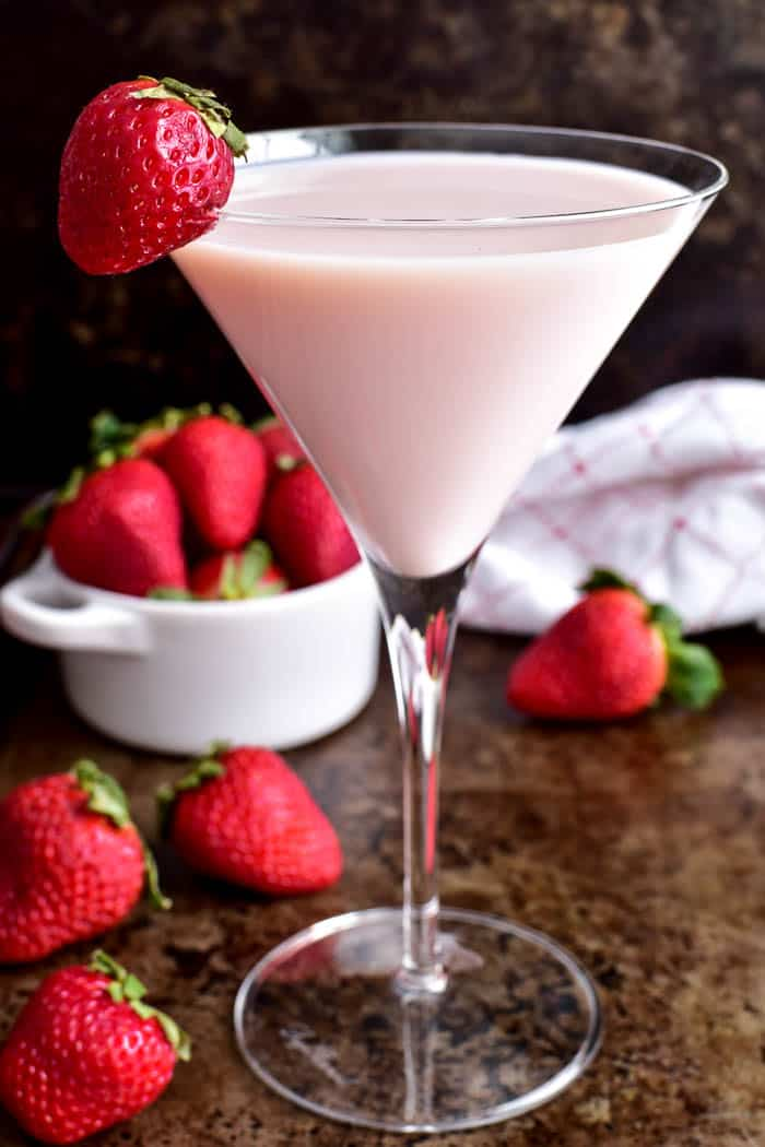 Strawberry Shortcake Martini photo